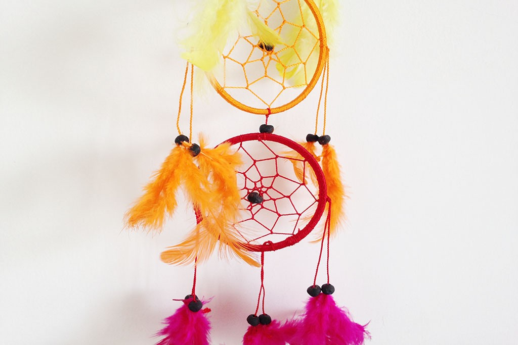 Dream Catcher Multicoloured 7-rings Balinese