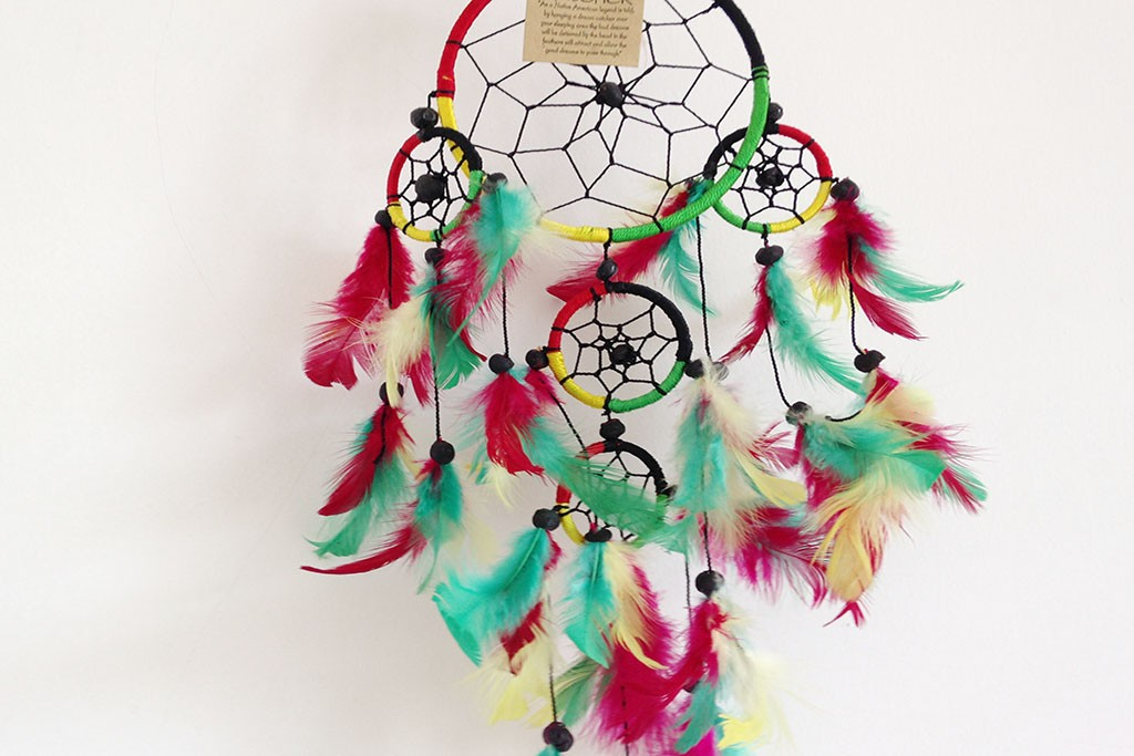 Dream Catcher Multicoloured - Round D16 cm