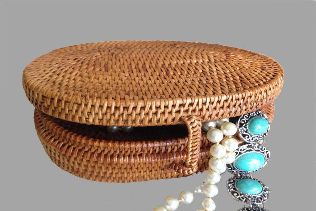 Jewelry Box Rattan KOPALE